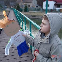 Podpalenie i topienie ekologicznej Marzanny.