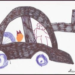 Czarna limuzyna