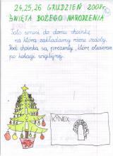 40) Święta Bożego Narodzenia - 24-26 grudzień