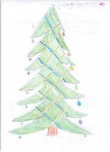 101) Boże Narodzenie -choinka