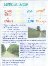 162) KGP XXVI - Lackowa - Beskid Niski - 10 lipiec