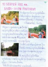 41) Bardo-Spływ pontonowy - 10 sierpień