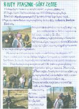 10) Ptasznik-Góry Złote - 8 luty